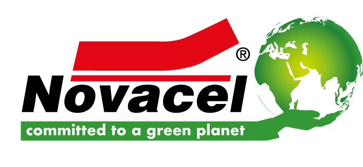 Logo Novacel Committed for a Green Planet